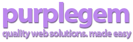 Purplegem logo